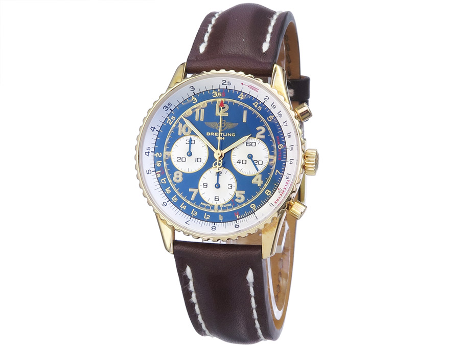 Breitling Navitimer 92 Gold Box Papers