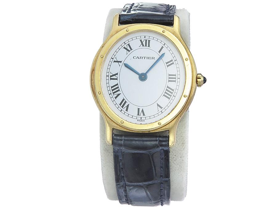 Cartier Arcade Handaufzug Gold