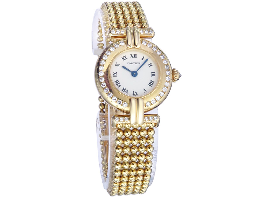 Cartier Colisee Gold Diamanten