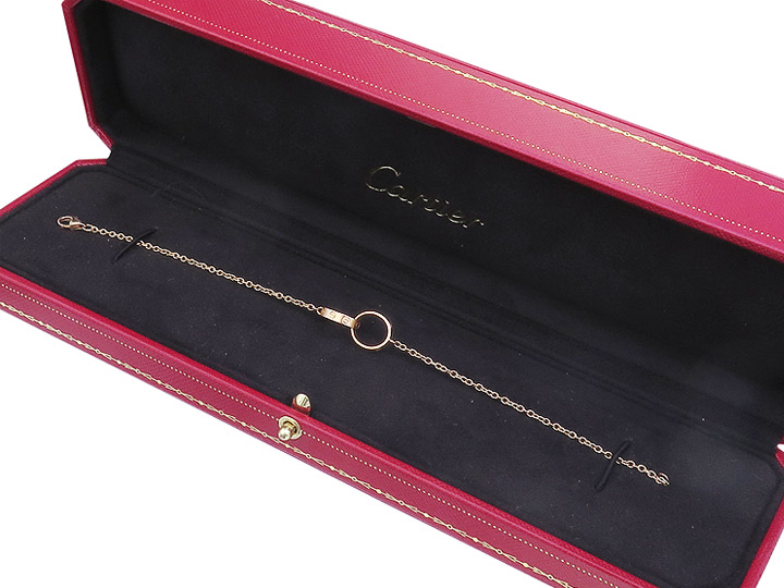 Cartier Armband LOVE ARMREIF 750er Rosegold Box