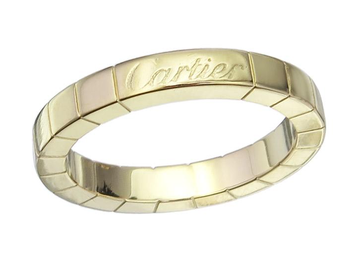 Cartier LANIERES Ring 18 Karat Yellow Gold