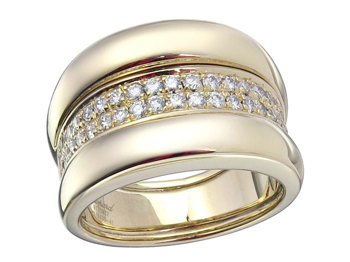 Chopard Ring LA STRADA Brillanten 750er Gelbgold