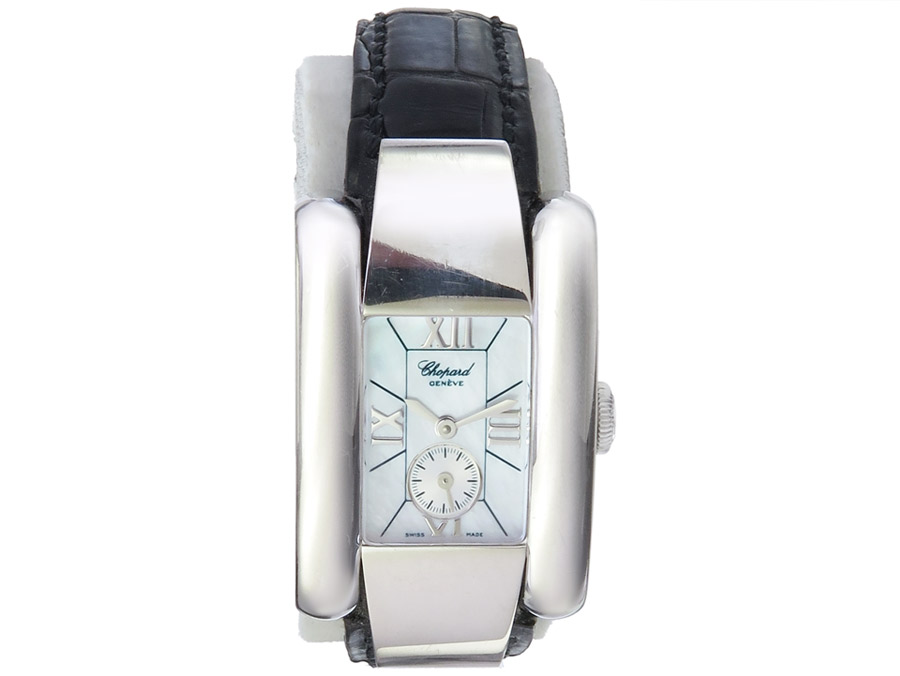 Chopard La Strade White Gold Mother of Pearl Dial