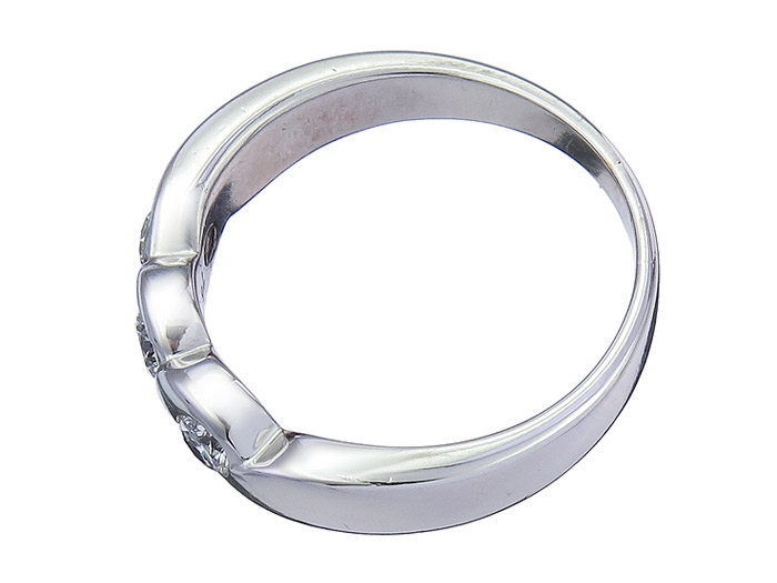 Christ Ring Brillanten 585er Weissgold Christ078