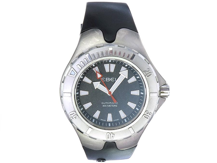 Ebel Sportwave Aquatica 300 Stahl Box