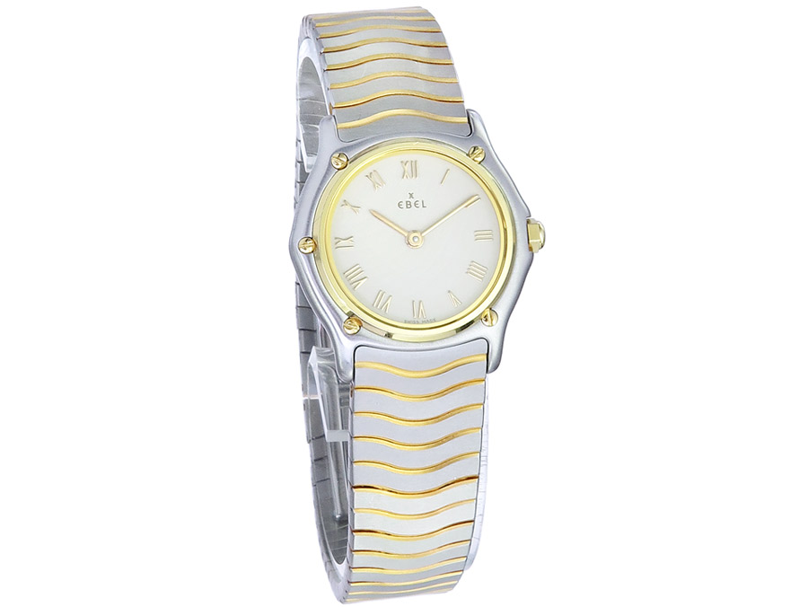 Ebel Sport Classic Lady Steel Gold Papers