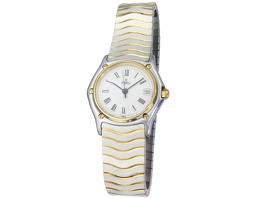 Ebel Classic Lady Stahl Gold