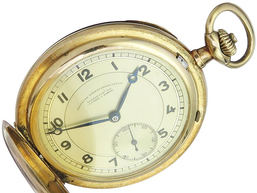 A. Lange & Söhne Taschenuhr Deutsche Uhrenfabrikation