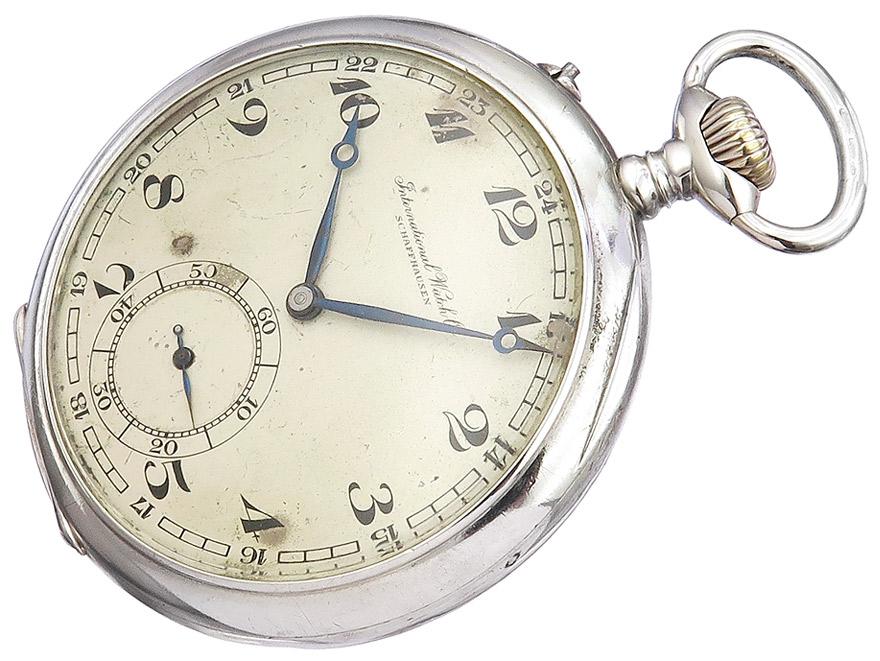 """IWC """"Taschenuhr"""" Silber ca. 1925-1939"""