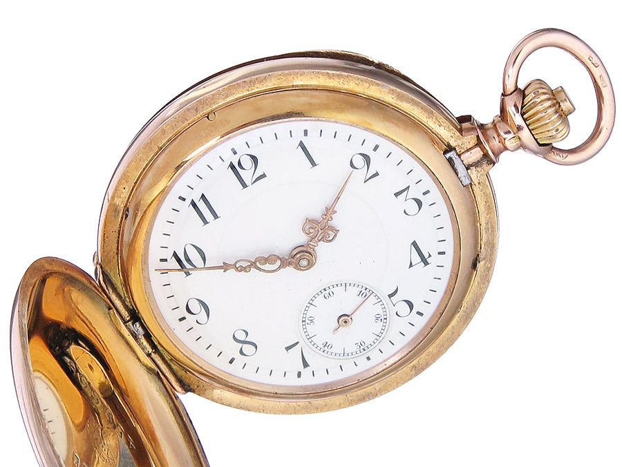 IWC Pocket Watch Medium Gold appr. 1910