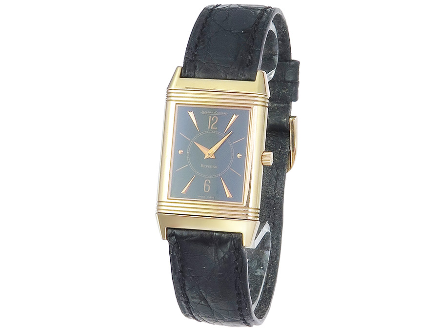 Jaeger LeCoultre Reverso Art Deco Rotgold
