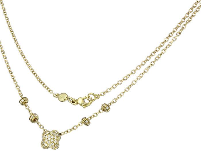 Collier Diamonds 18 Karat Yellow Gold