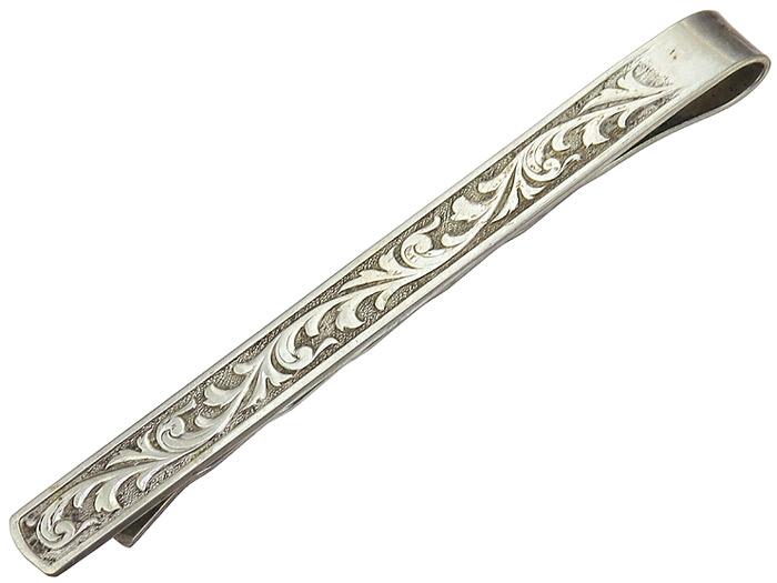 Krawattenklammer um 1920 835er Silber