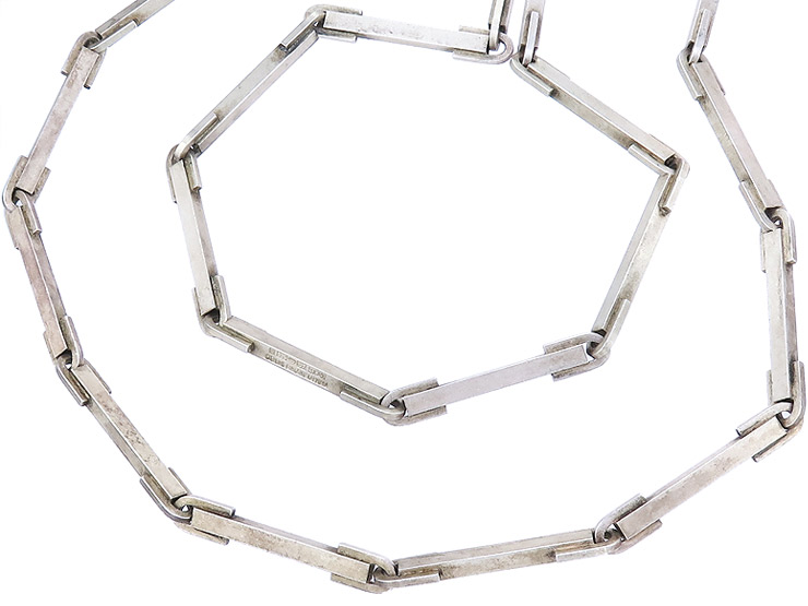 Lapponia Necklace ICICLES Björn Weckström 925 Silver approx. 1973
