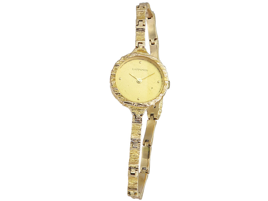 Lapponnia Wristwatch Lady Gold