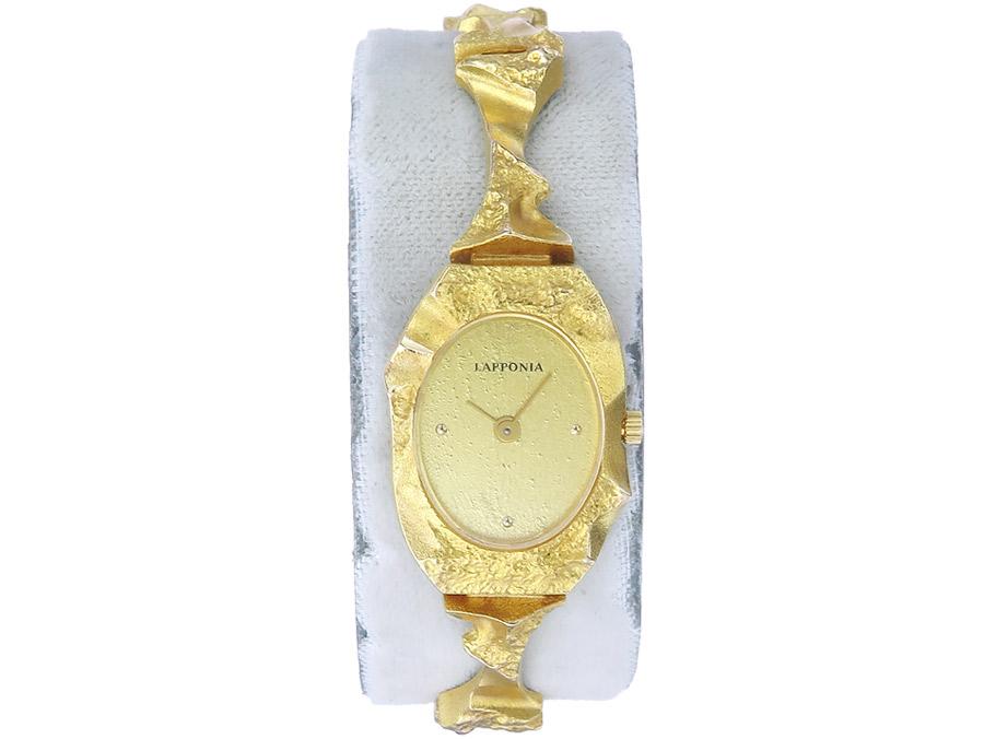 Lapponia Uhr Pola Negri Gold
