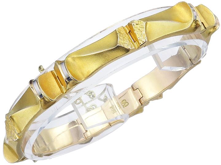Lapponia Bracelet 14 Karat Yellow Gold 1989