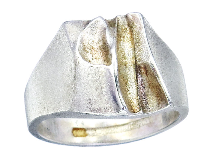 Lapponia Ring 925er Silber ca. 1985
