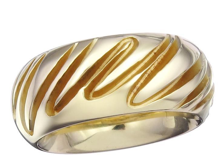 Niessing Ring 18 Karat Yellow Gold