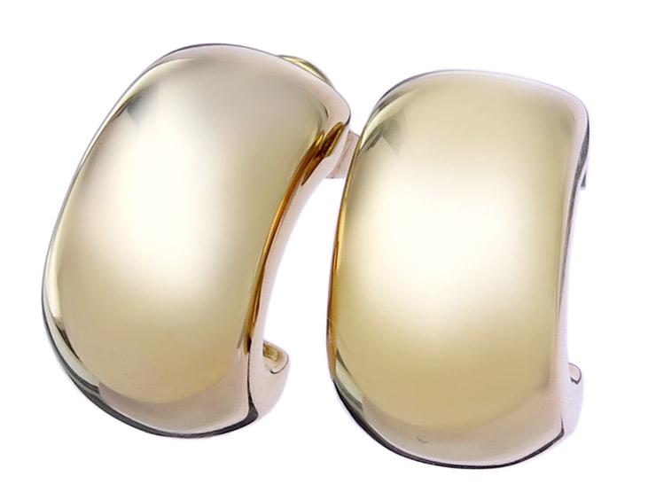 Earrings 14 Karat Yellow Gold