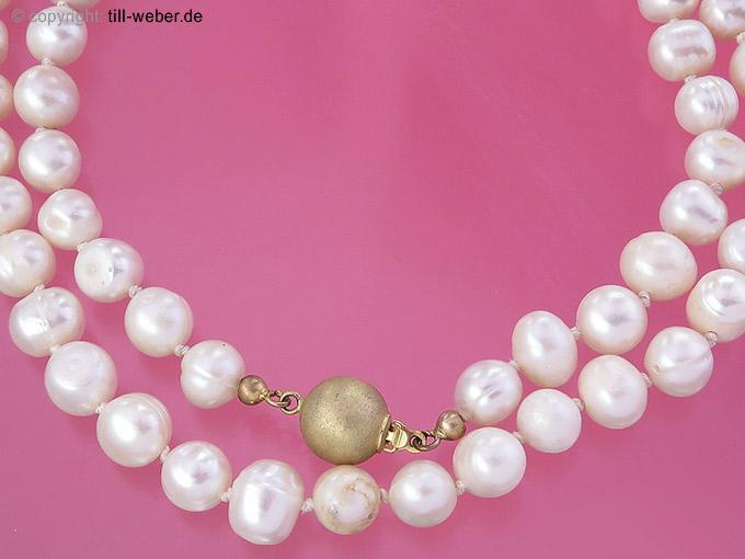 """Perlenkette """"Gold"""""""