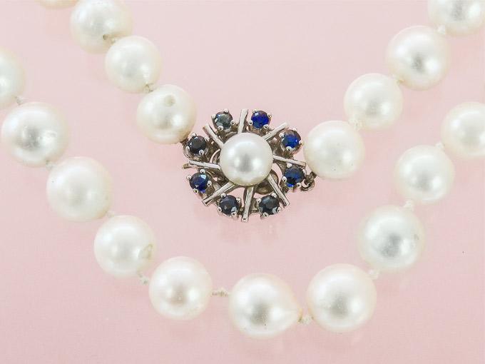 Perlenkette Ein-Reihig