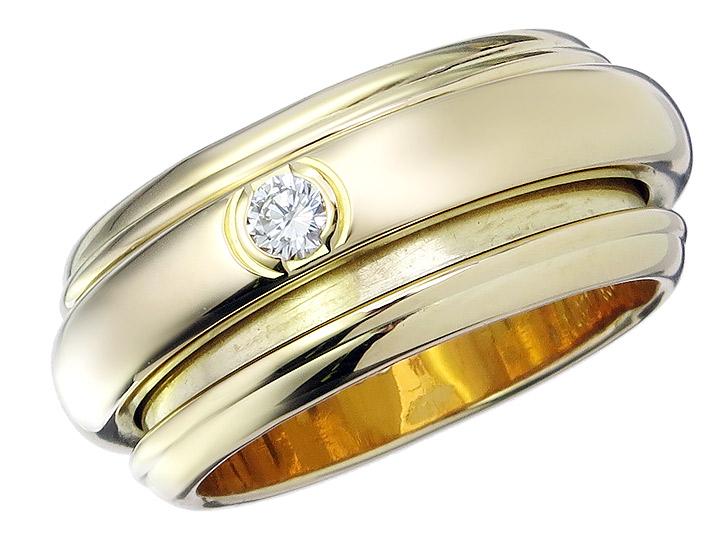 Piaget Ring POSSESSION Diamond 18 Karat Yellow Gold