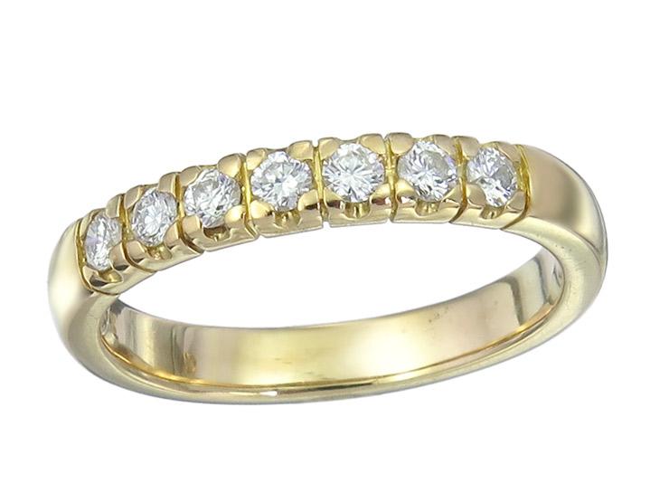 Ring Diamonds 18 Karat Yellow Gold