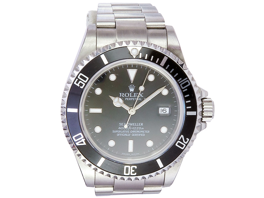 Rolex Sea-Dweller Box Papiere von 2005