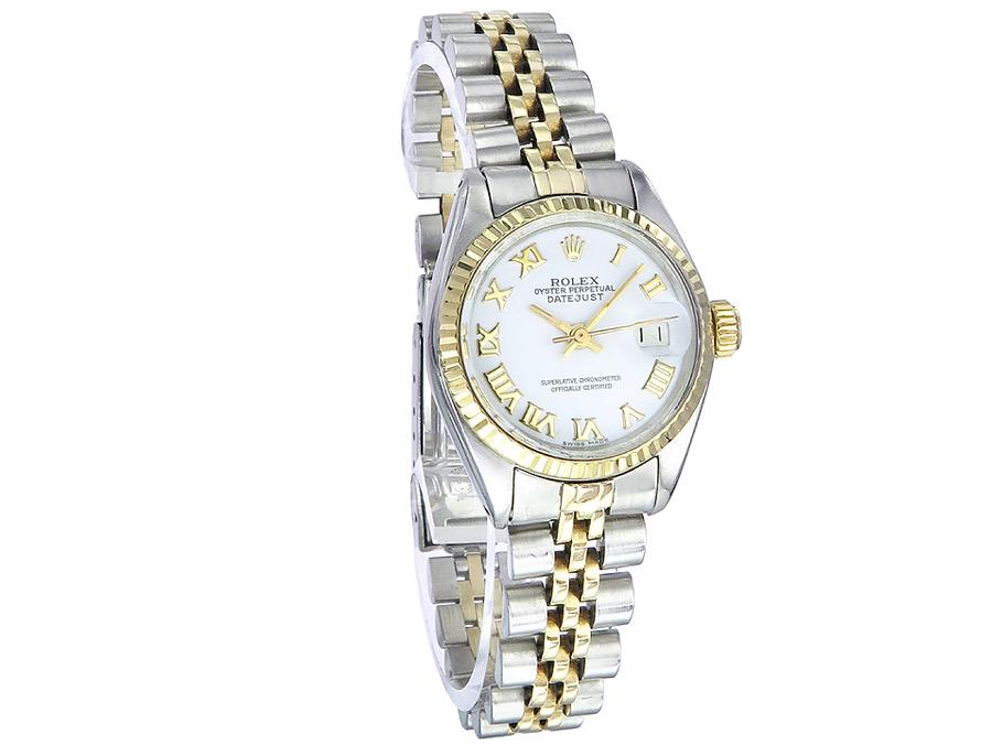 Rolex Lady Datejust Stahl Gold