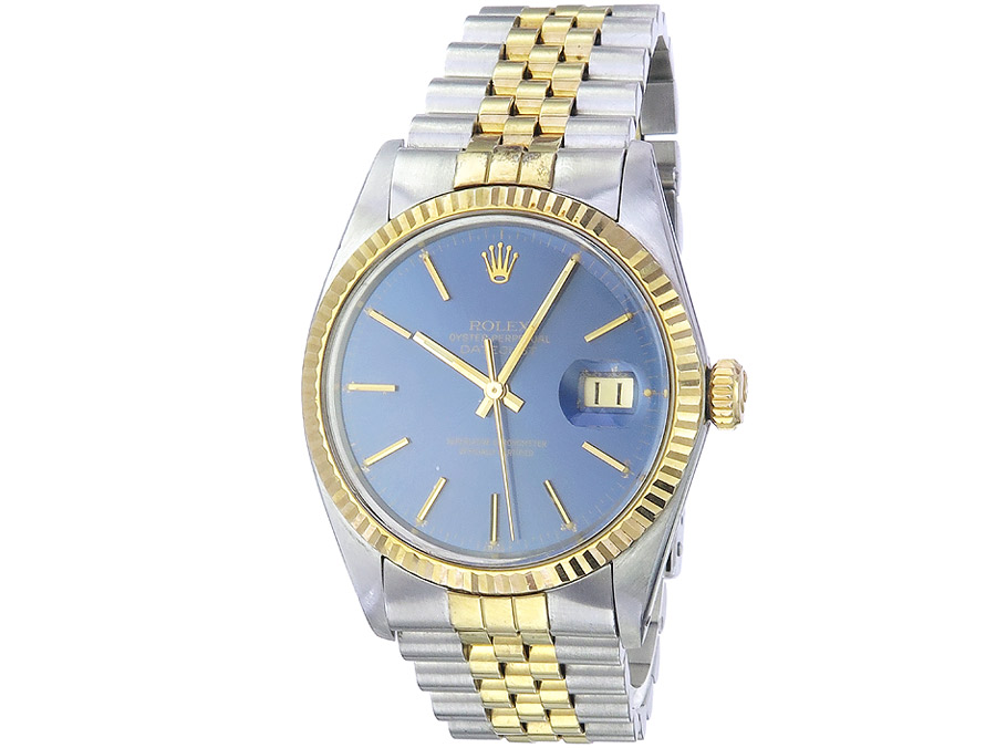 Rolex Oyster Perpetual Datejust Stahl Gold ca. 1981