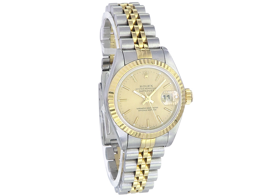 Rolex Lady Datejust Stahl Gold