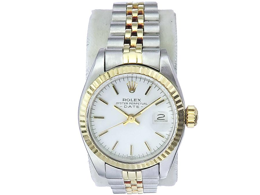 Rolex Lady Date Stahl Gold um 1979