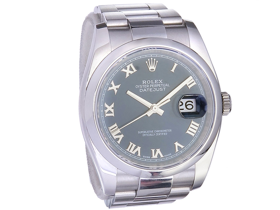 Rolex Datejust Steel Ref. 116200 Box Papers 2020
