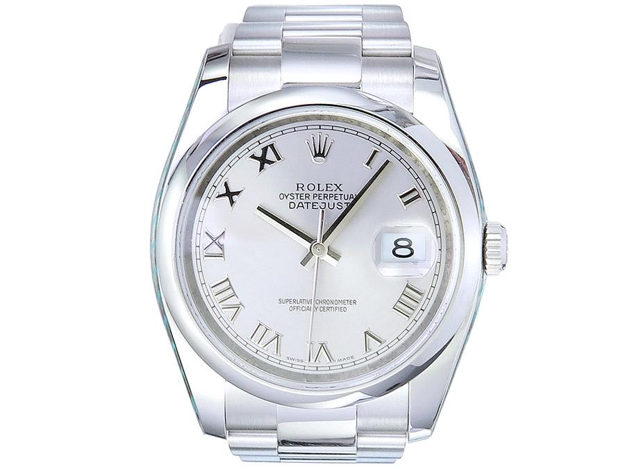 Rolex Oyster Perpetual Datejust Stahl Ref. 116200 ca. 2007