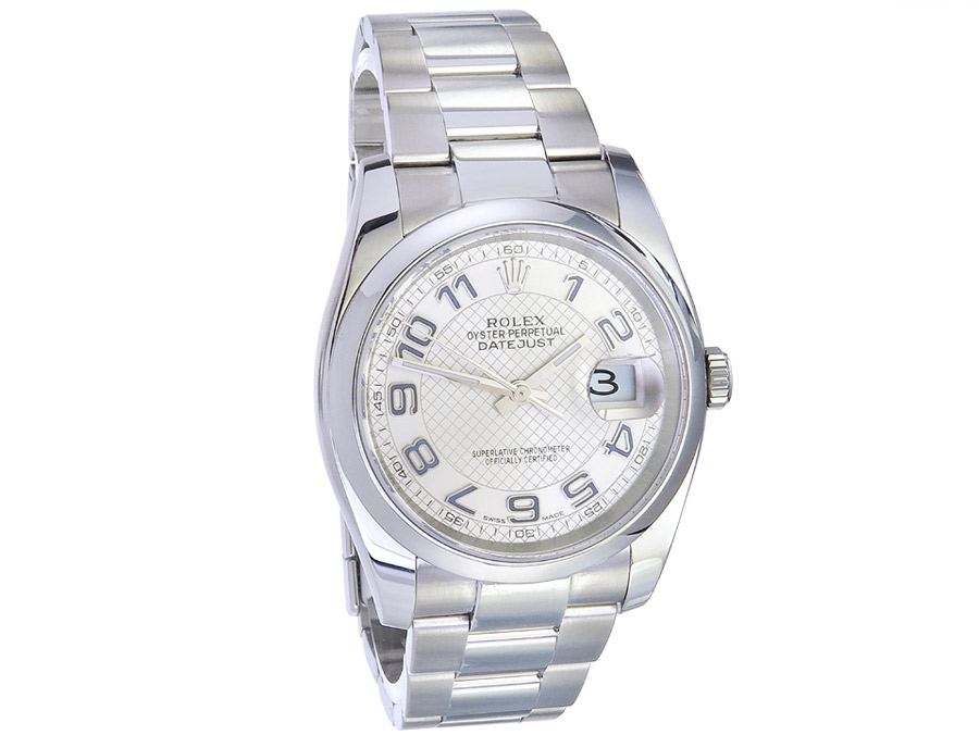 Rolex Oyster Perpetual Datejust 36 Box Papiere 2017