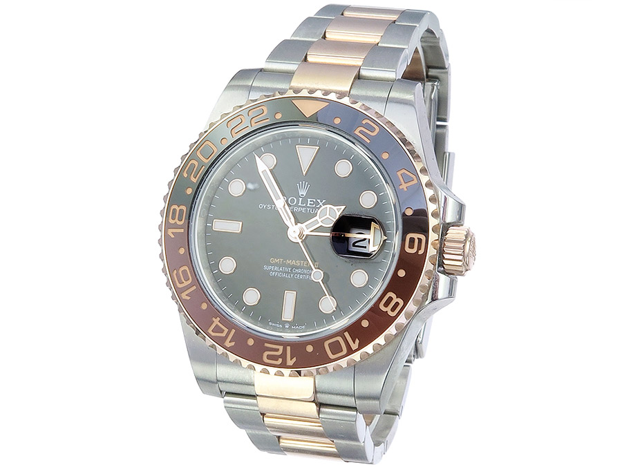 Rolex GMT-Master II Steel Gold Box Papers 2019