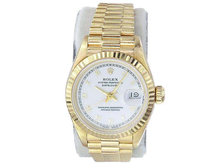 Rolex Lady Datejust Gold Goldband