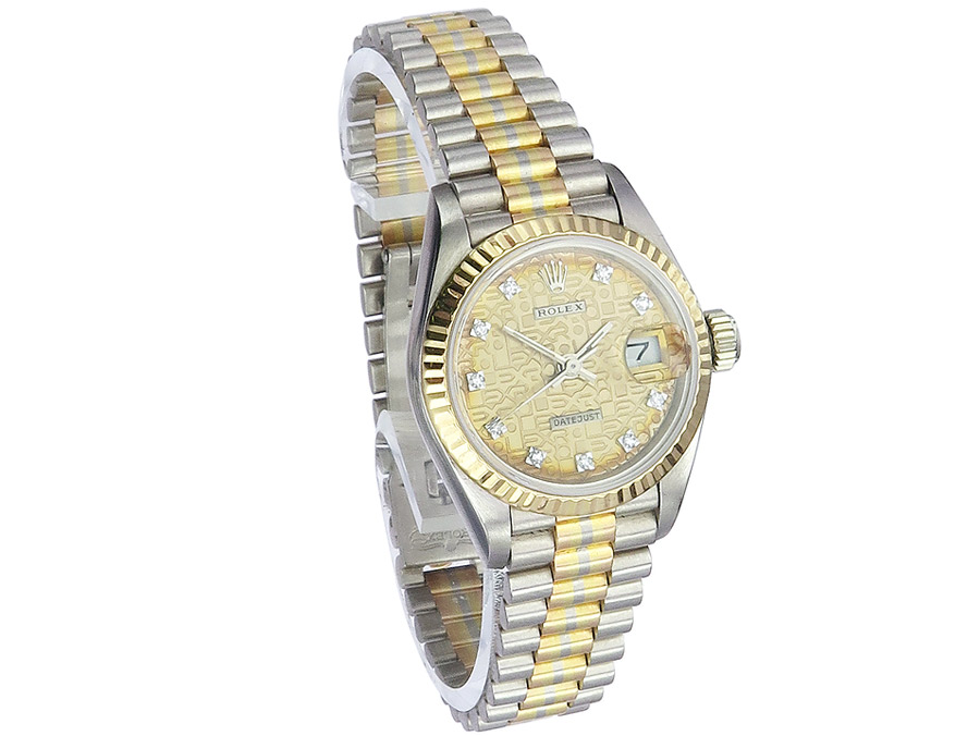 Rolex Lady Datejust Tricolor Gold ca. 1984