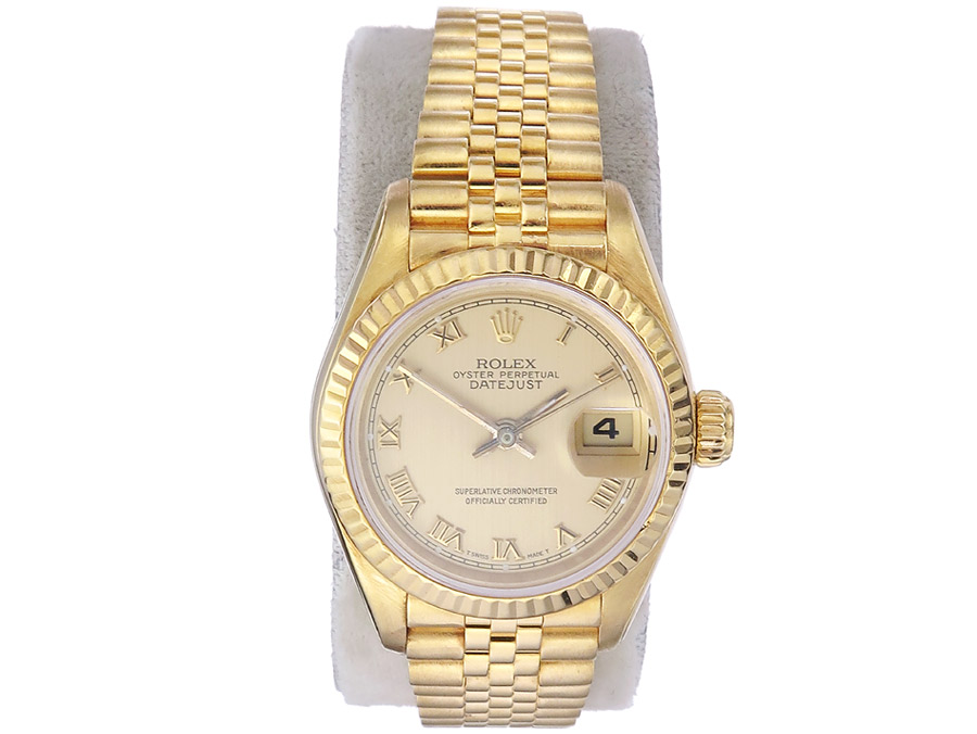 Rolex Lady Datejust Gold Goldband