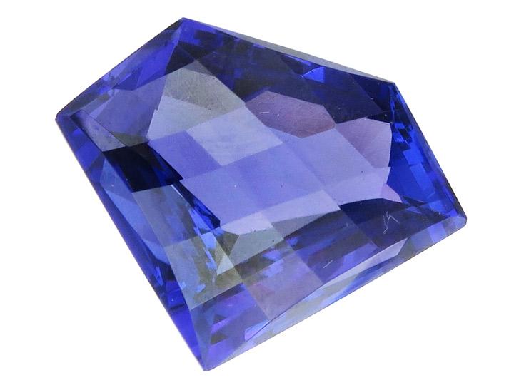 Tansanit 24,16 Carat Tiefes Violett Blau IGI Zertifikat