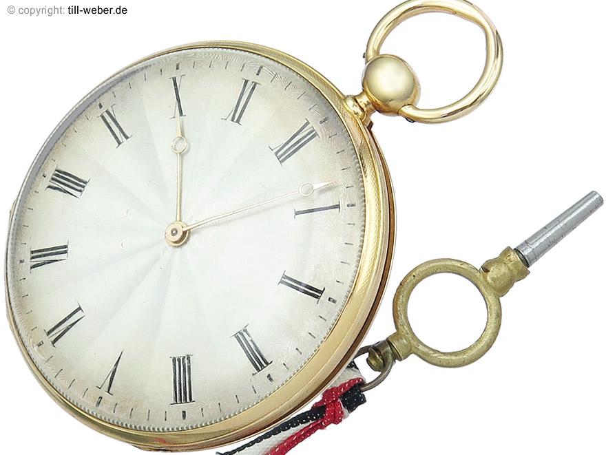 "Taschenuhr ""Samuel Frederic Ravené Horloger du Roi"" ca. 1810"