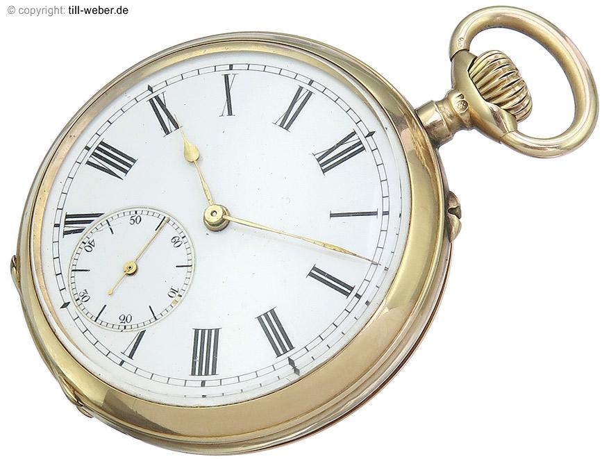 """IWC """"Taschenuhr"""" Gold ca. 1908"""