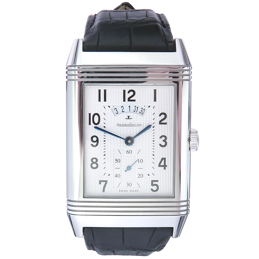 Jaeger LeCoultre Grande Reverso Duodate Steel Box Papers limitet