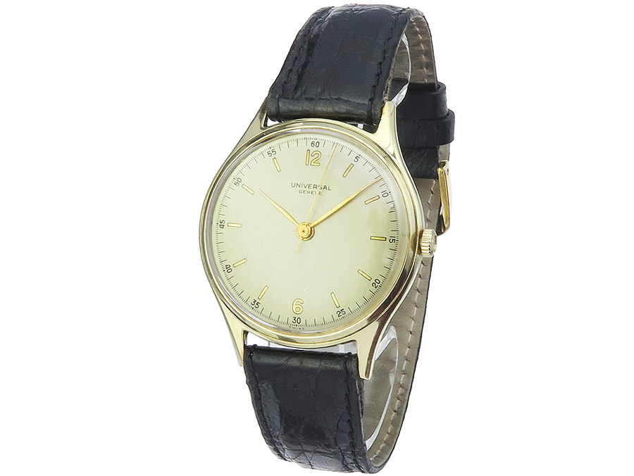 Universal Geneve Manual Wind Gold appr. 1950